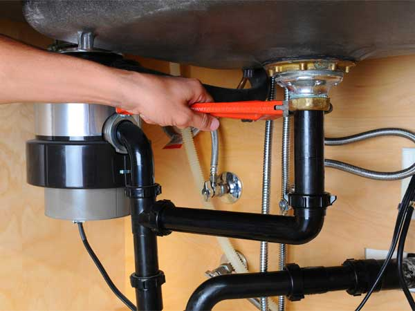 kitchen garbage disposal plumbing