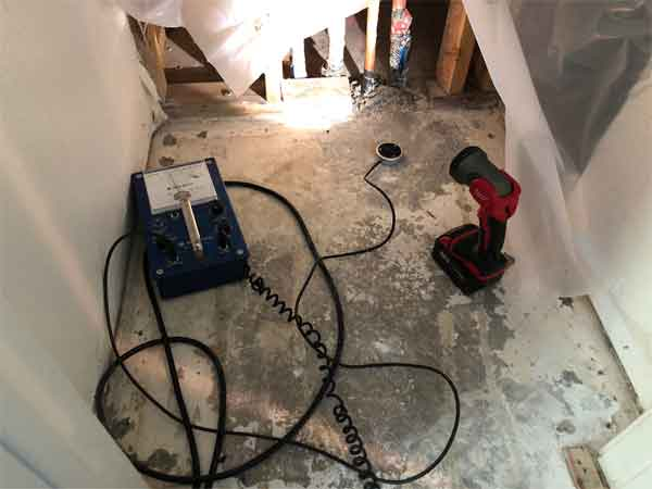 pipe leak detection repair