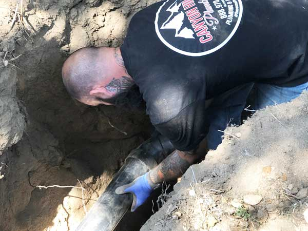 sewer line plumber