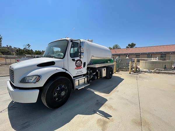 septic truck waste dumping